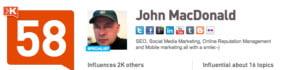 John Macdonald Klout