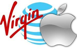 Virgin-AT&-Apple logos